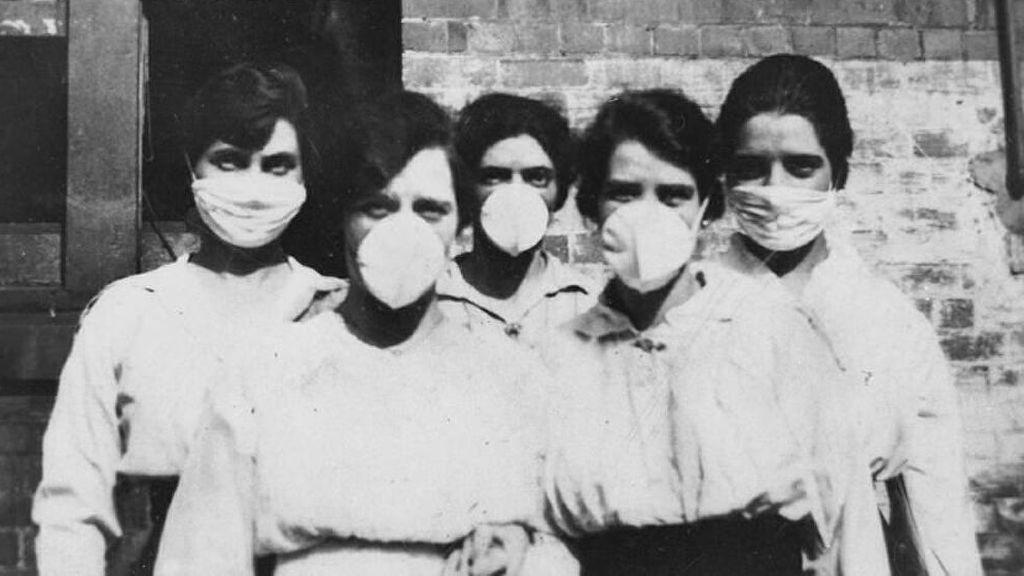 La similitud de las imágenes del coronavirus y la gripe española, el virus más inteligente de la historia