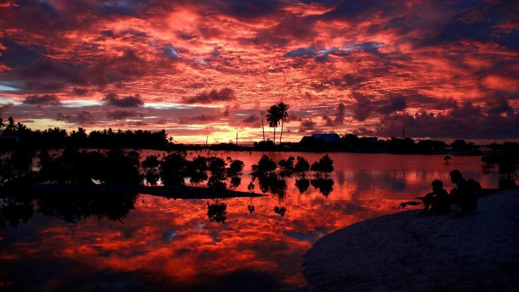 Kiribati, libre de virus