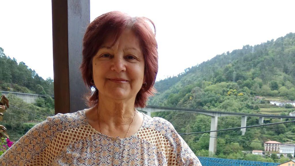 Áurea vive en Lugo y a 200 metros de la provincia de Ourense