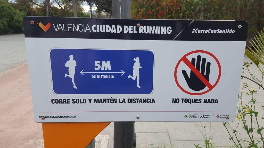 Corredores en Valencia