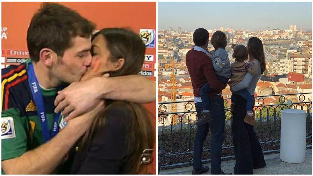 Del beso en Sudáfrica, a una familia ejemplar: Sara Carbonero y Casillas, más unidos que nunca