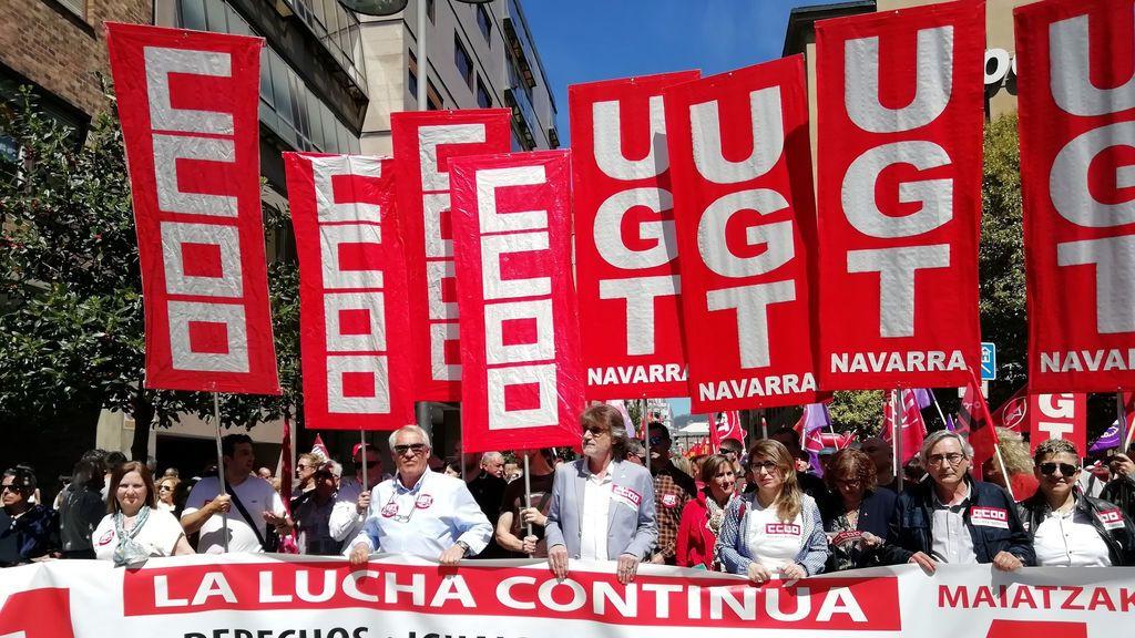 Los tribunales navarros autorizan una concentración del 1 de mayo de seis personas