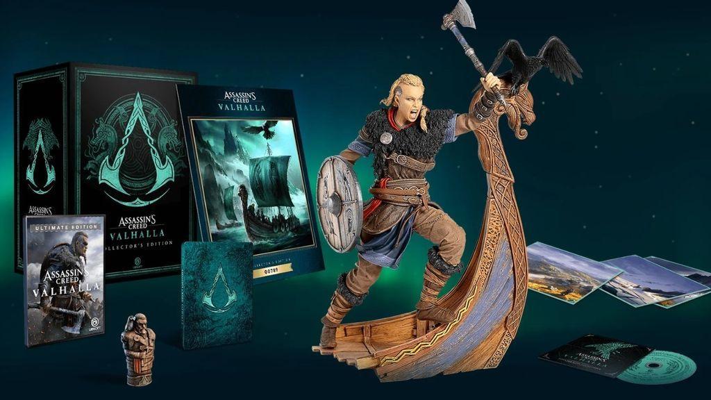Assassins Creed Valhalla Edición Coleccionista