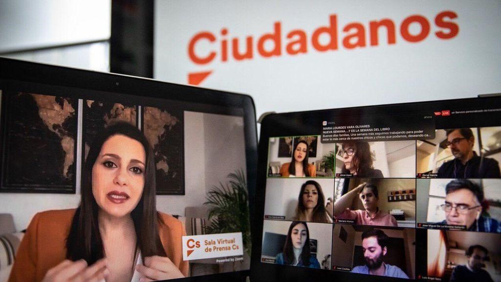 Ciudadanos celebra un congreso virtual para encontrar su sitio bajo el liderazgo de Arrimadas