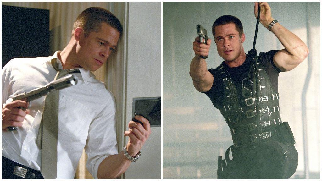 Brad Pitt en 'Sr. & Sra. Smith'.