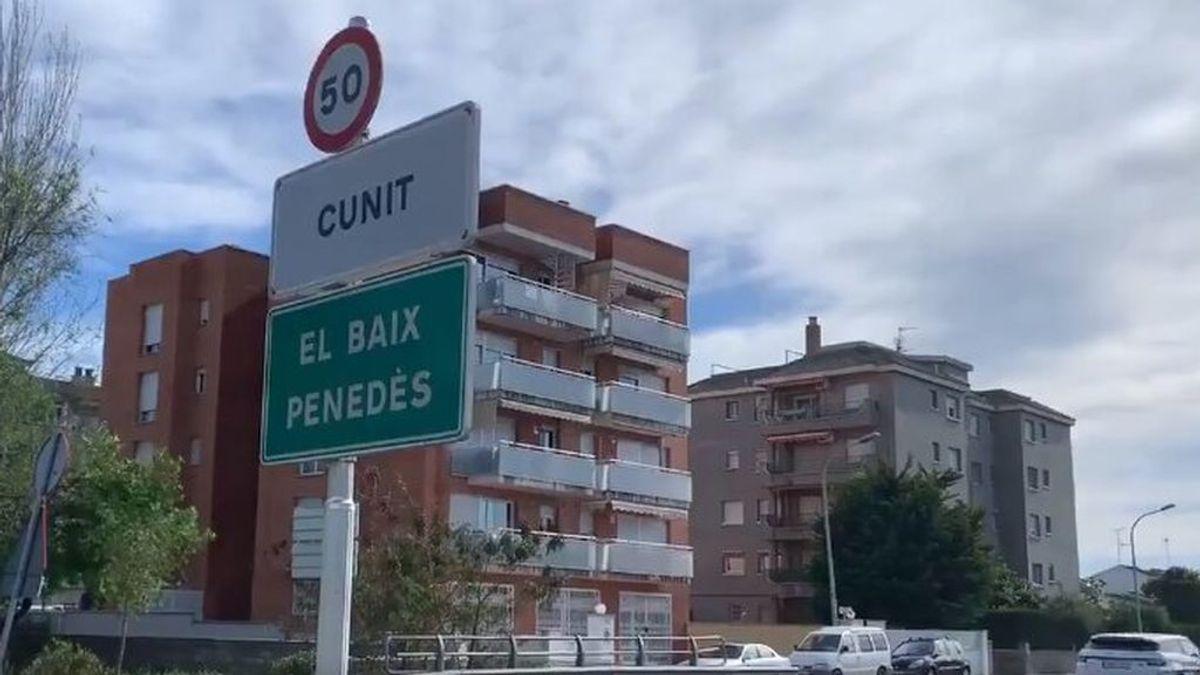 """Un vecino de Cunit: """"No puedo ir andando a casa de mi madre que vive en Cubelles pero sí hacer 150km para ir a Alcanar"""""""