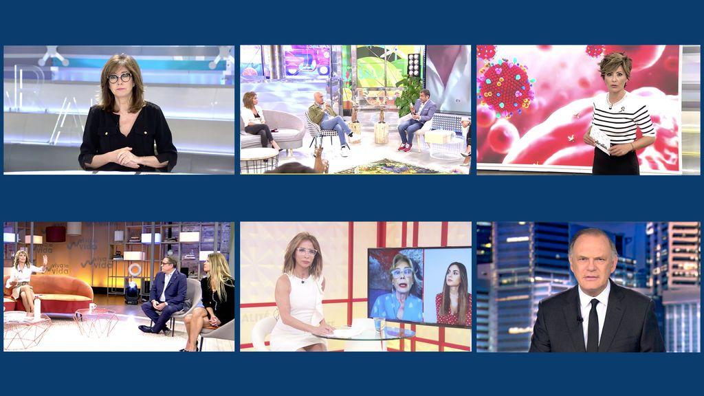 Un day time en permanente directo, piedra angular del sólido liderazgo de Telecinco