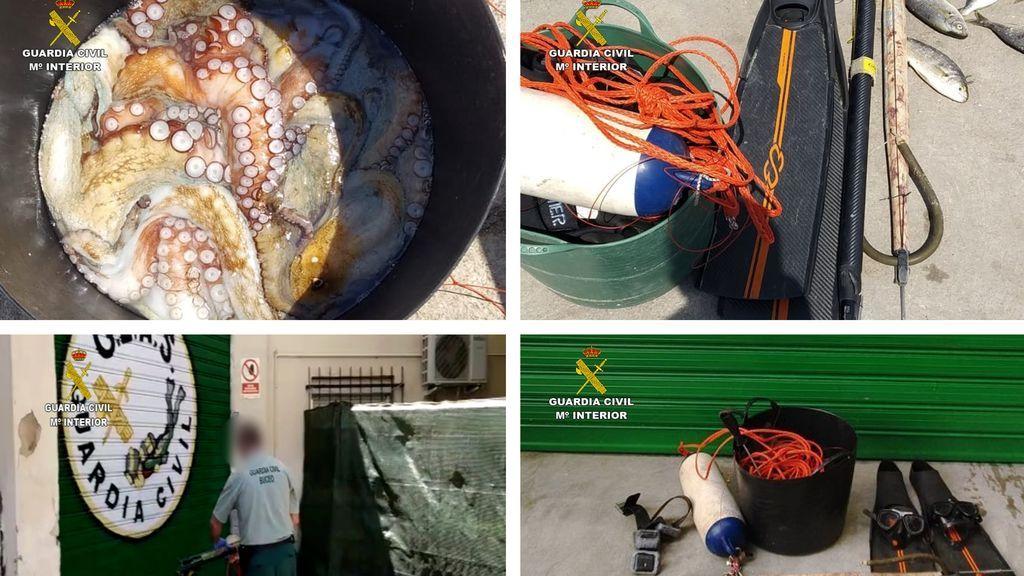 Detenido por saltarse el confinamiento para practicar pesca furtiva y jactarse en redes sociales