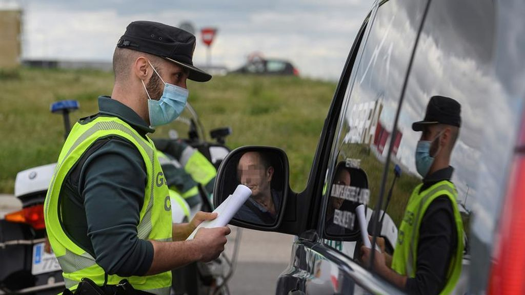 Guardia Civil en control durante la pandemia de coronavirus