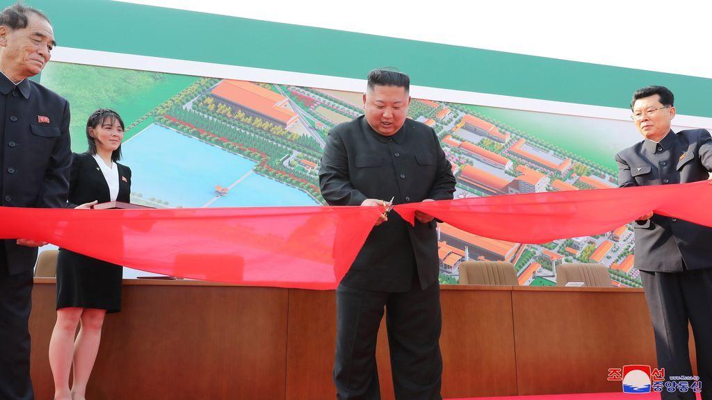 Kim Jong-un, en su reaparición