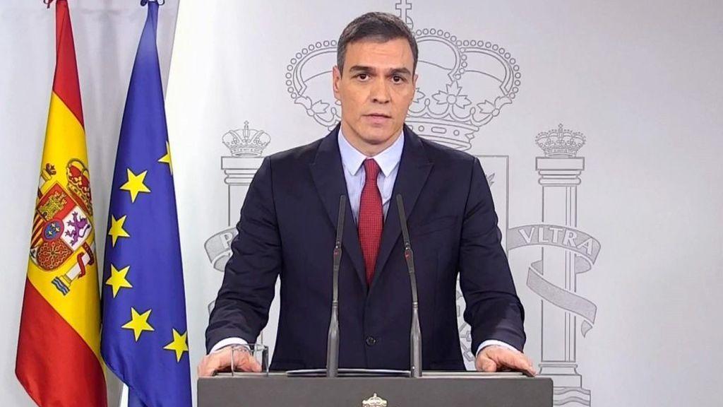 """Sánchez advierte a la oposición: """"No hay plan B, el único plan es el estado de alarma"""""""
