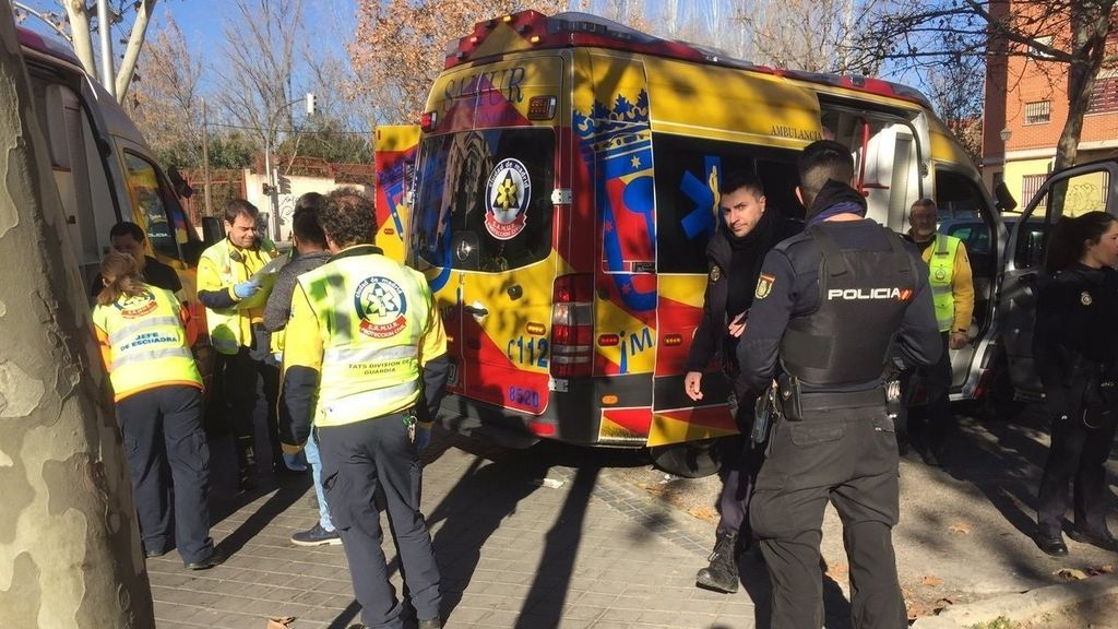 Herido muy grave en Madrid tras ser apuñalado en el estómago por su compañero de piso