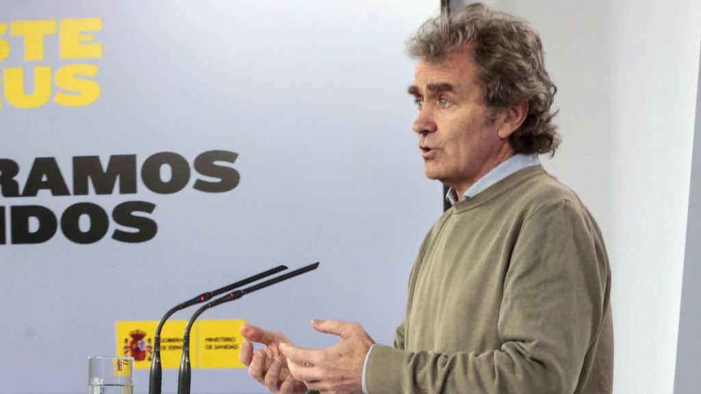 """Fernando Simón: """"Hay una alta probabilidad de nuevos rebrotes del coronavirus"""""""