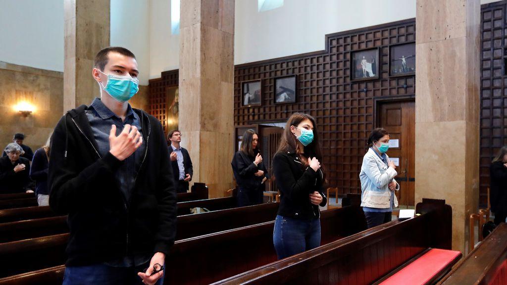 Croaciacelebra las primeras misas dominicales del país