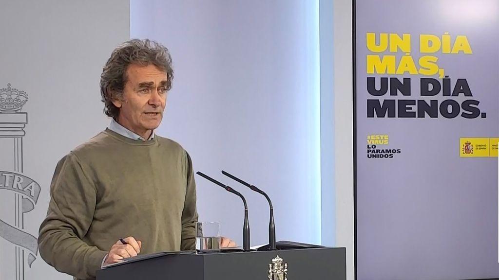 """Fernando Simón, sobre la posibilidad de rebrotes de coronavirus: """"Es algo que puede pasar con mucha probabilidad"""""""