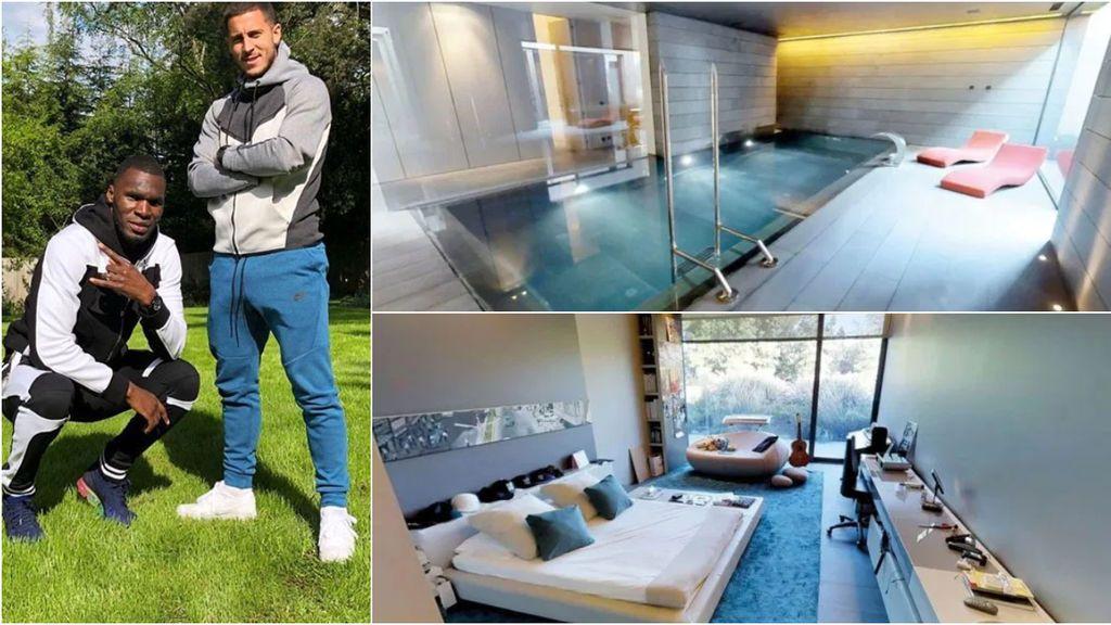 La lujosa mansión de Hazard en 'La Finca' que compró a Alejandro Sanz: seis dormitorios, diez cuartos de baño, dos piscinas y spa