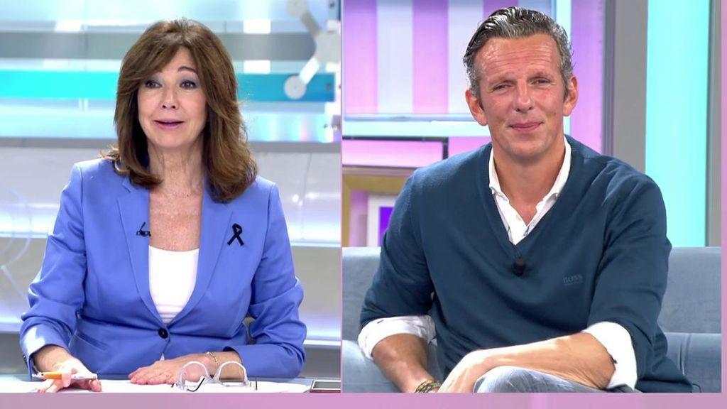 Joaquín Prat y  Ana Rosa reconocen que el confinamiento les ha pasado factura