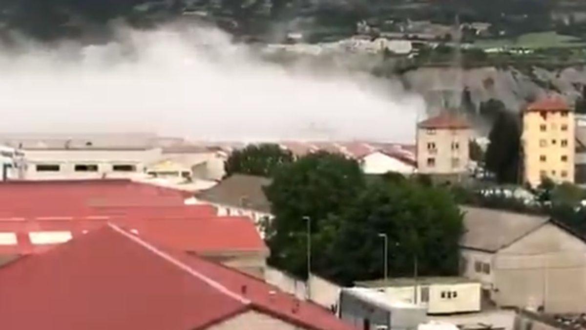 Incendio en una planta química de Sabiñánigo en Huesca: las alarmas funcionaron y no hay heridos