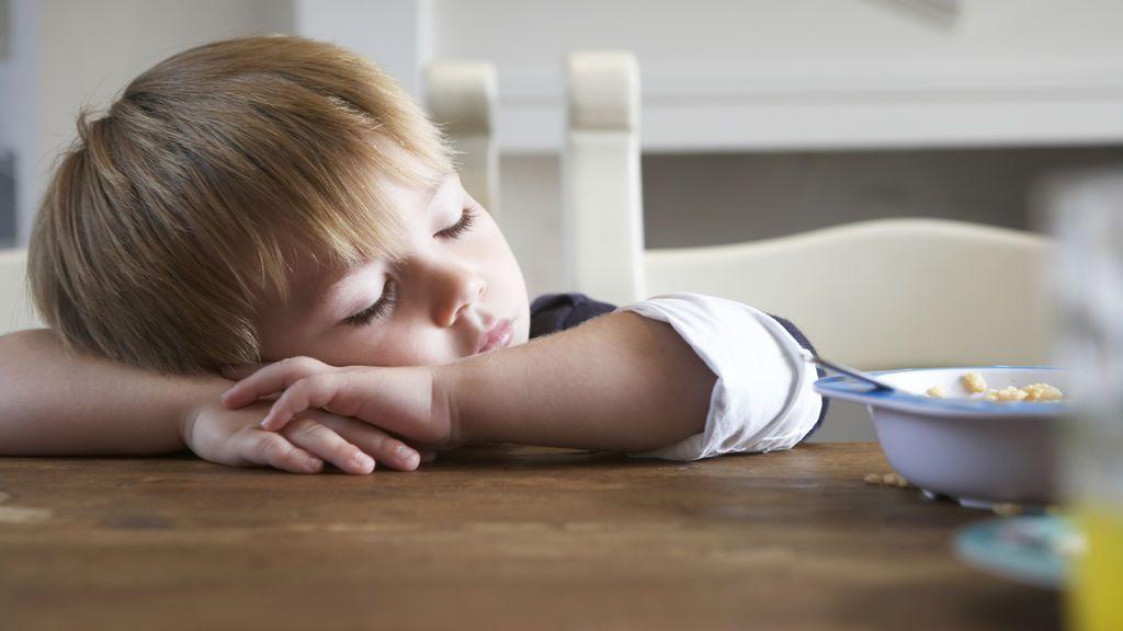 El niño se encontrará agotado y estresado.