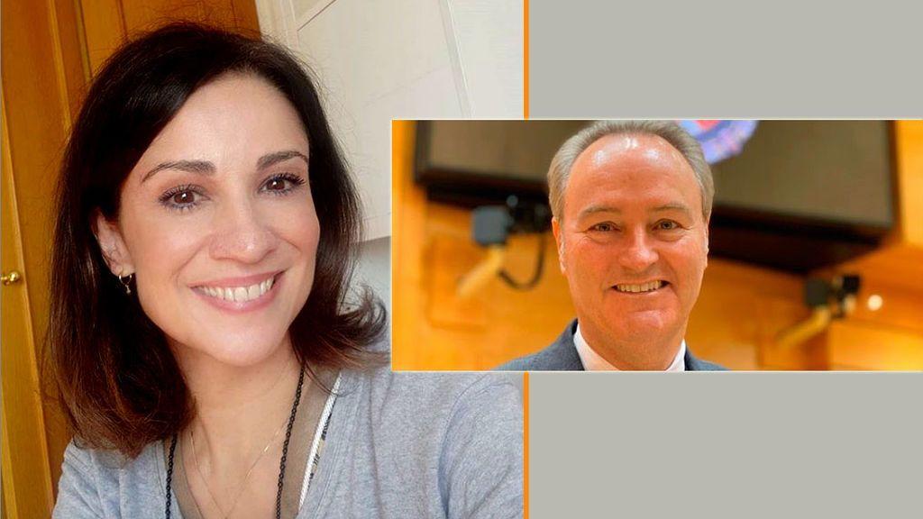 Silvia Jato y Alberto Fabra