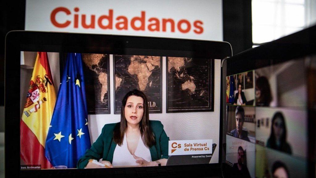 Arrimadas propone a Sánchez eliminar el estado de alarma pero no las ayudas