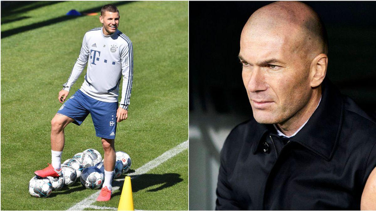 Lucas Hernández, ¿el nuevo jefe de la defensa del Real Madrid?: primeros contactos con Zidane, según la prensa francesa