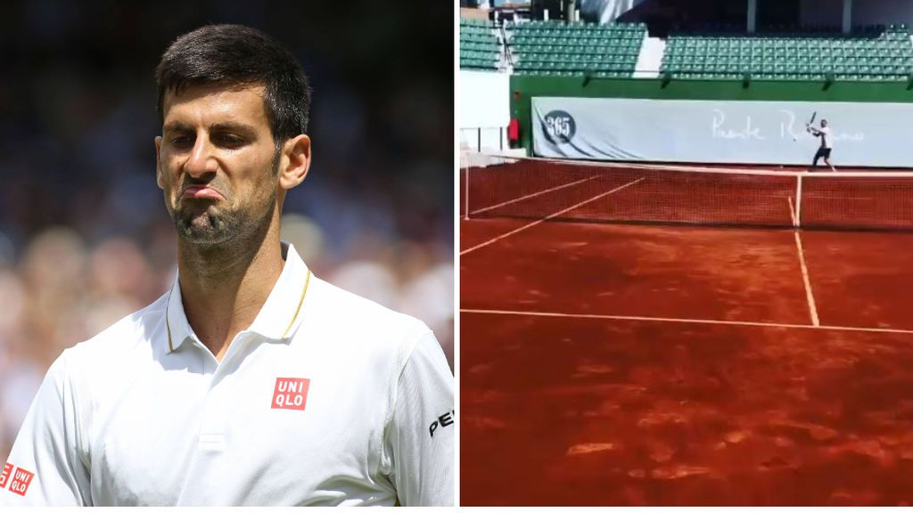 Djokovic se salta las medidas de la desescalada y entrena en Marbella acompañado y en la pista de un club de tenis