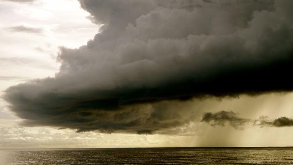 Galerna en Vizcaya: viento de 100 km/hora y 15ºC menos en pocos minutos