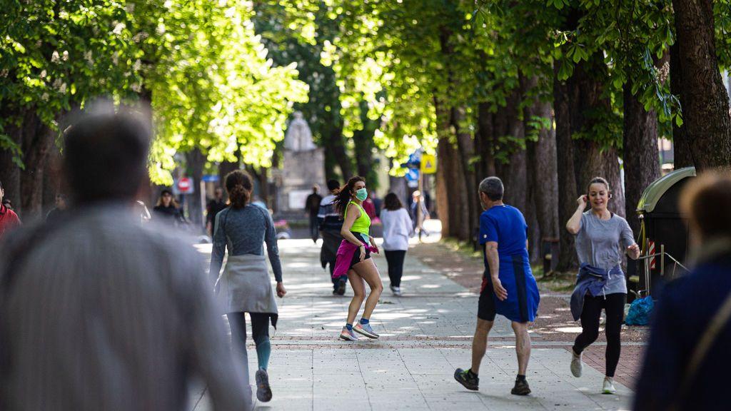 Las horas permitidas para pasear o hacer deporte: las peores para los alérgicos