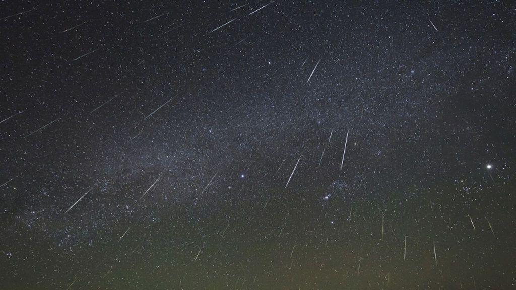 Llega la lluvia de estrellas de las Eta Acuáridas