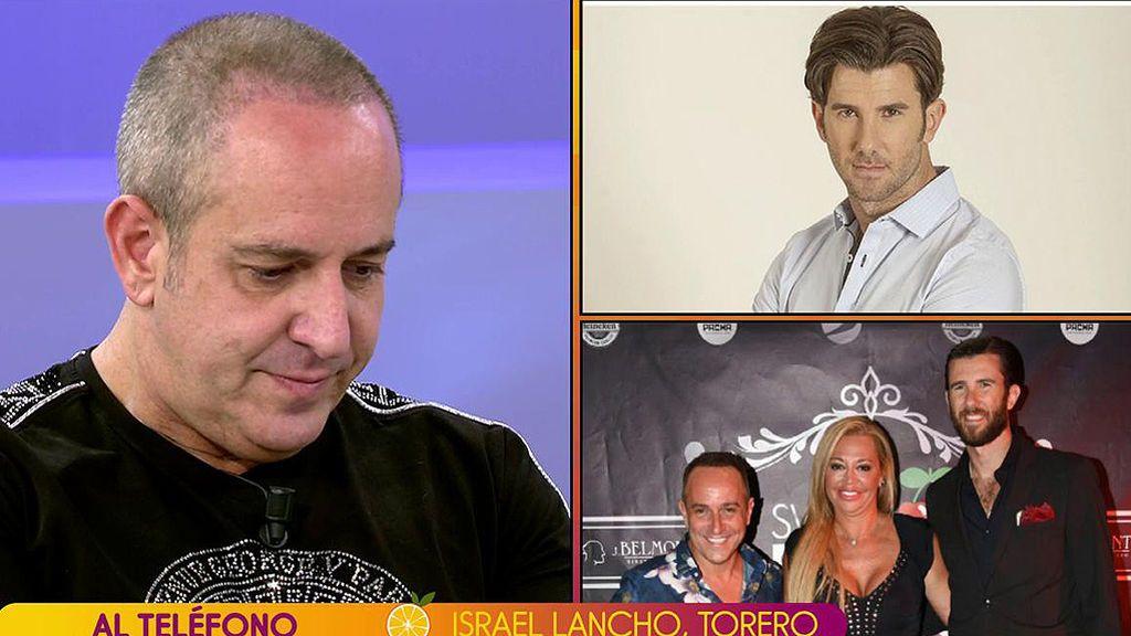 Israel Lancho responde en directo al reproche de Víctor Sandoval