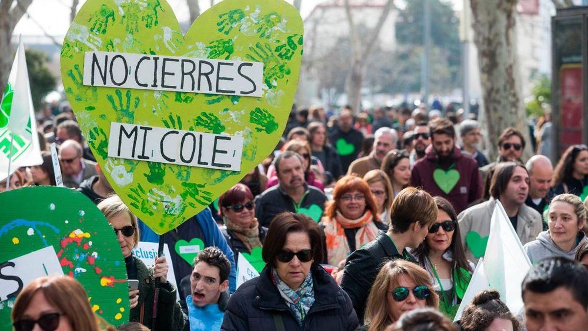"""Los colegios de educación especial españoles son """"un referente a nivel mundial"""" y la ley Celaá quiere cerrarlos"""