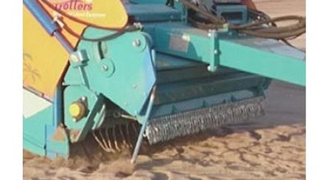 Máquinas Dromedar para limpiar las playas