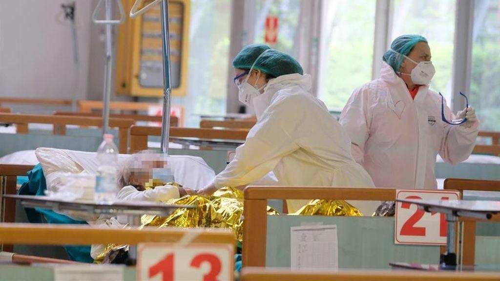 Fuerte repunte de fallecidos en Italia, con 369 las últimas 24 horas