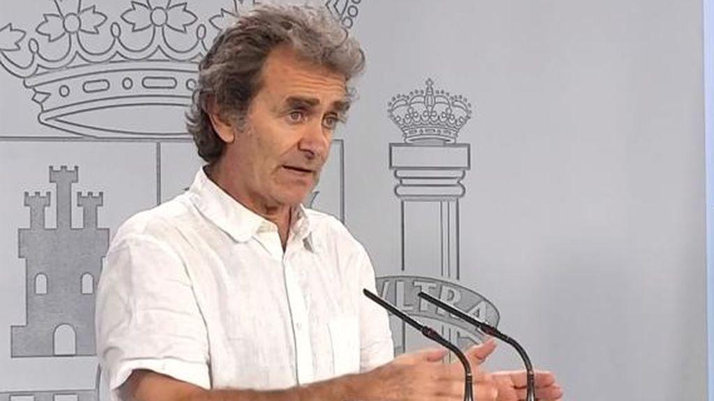 El número de muertos diarios por coronavirus en España repunta hasta los 244