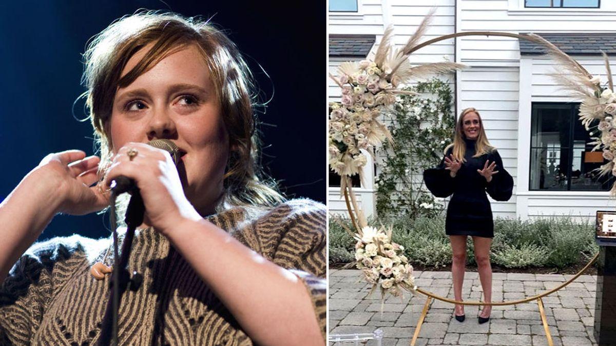 El cambio físico de Adele en 12 años