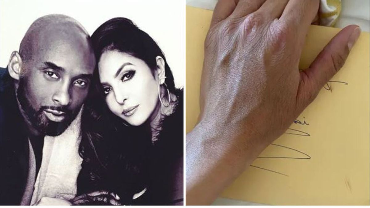 """Vanessa Bryant encuentra una carta secreta que dejó Kobe antes de morir: """"Para el amor de mi vida"""""""