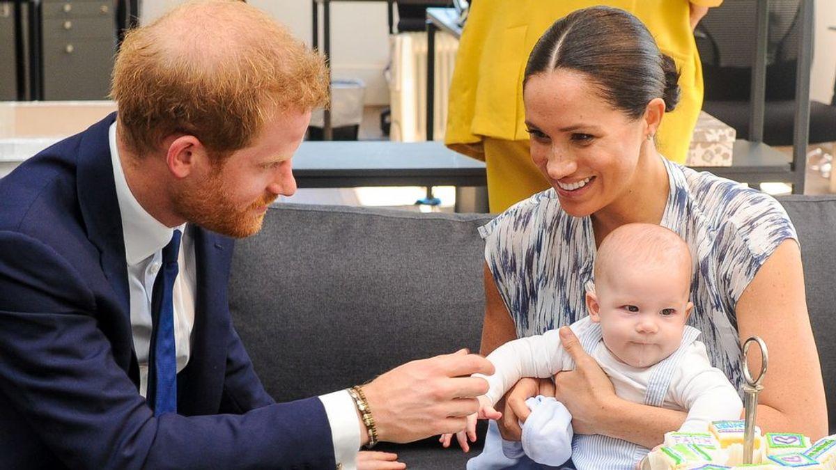 Harry, Meghan y Archie