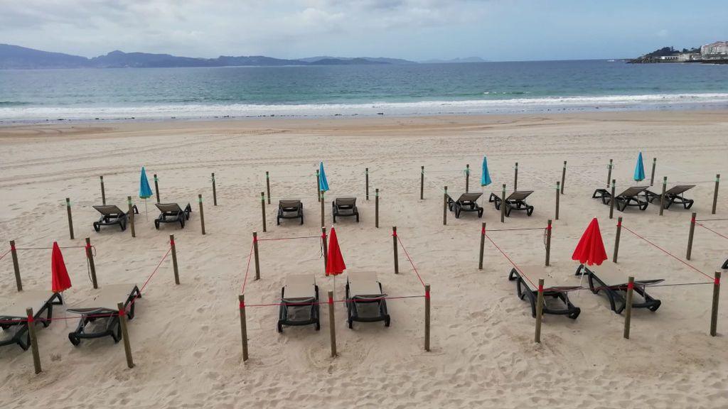 La playa de Silgar es la playa urbana del municipio