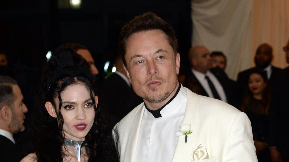 Ni John no Peter: Elont Musk y Grimes ponen de nombre a su hijo X Æ A-12
