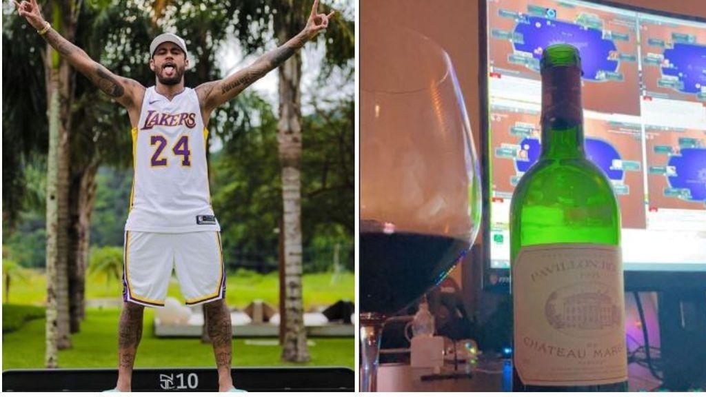La vida de Neymar tras anunciarse que no se jugará la liga francesa: fiestas con amigos, copas de vino y torneos de póquer online