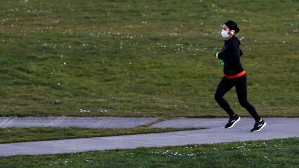 La compra de mascarillas deportivas para 'runners' arrasan en internet