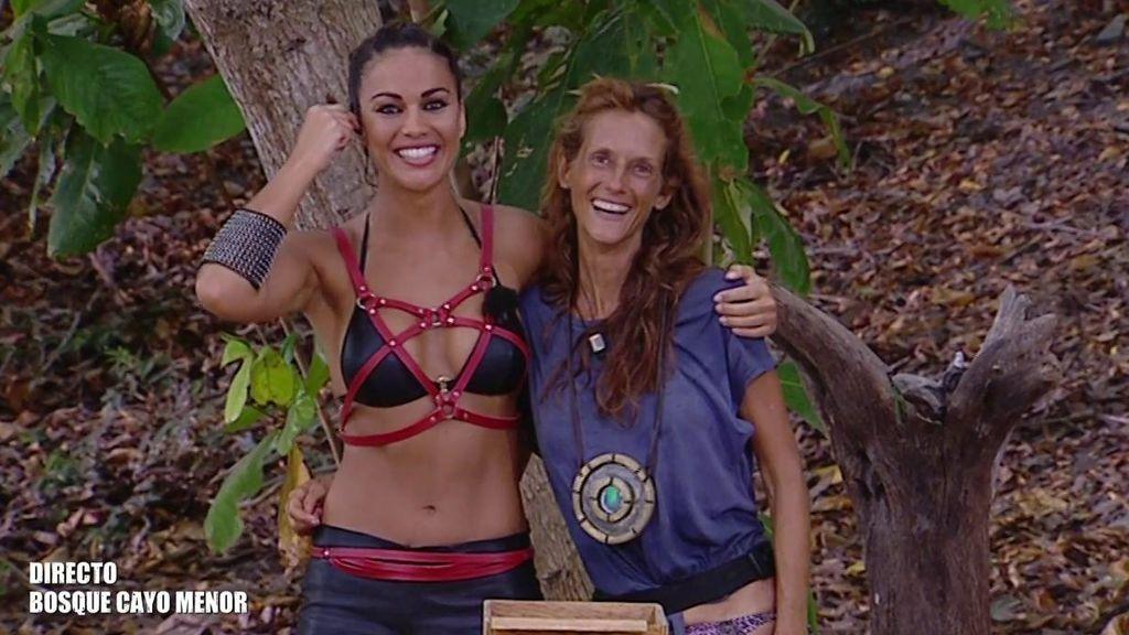 """Elena muy emocionada tras ganar el juego de líder: """"No era nadie y mira quien soy ahora"""""""