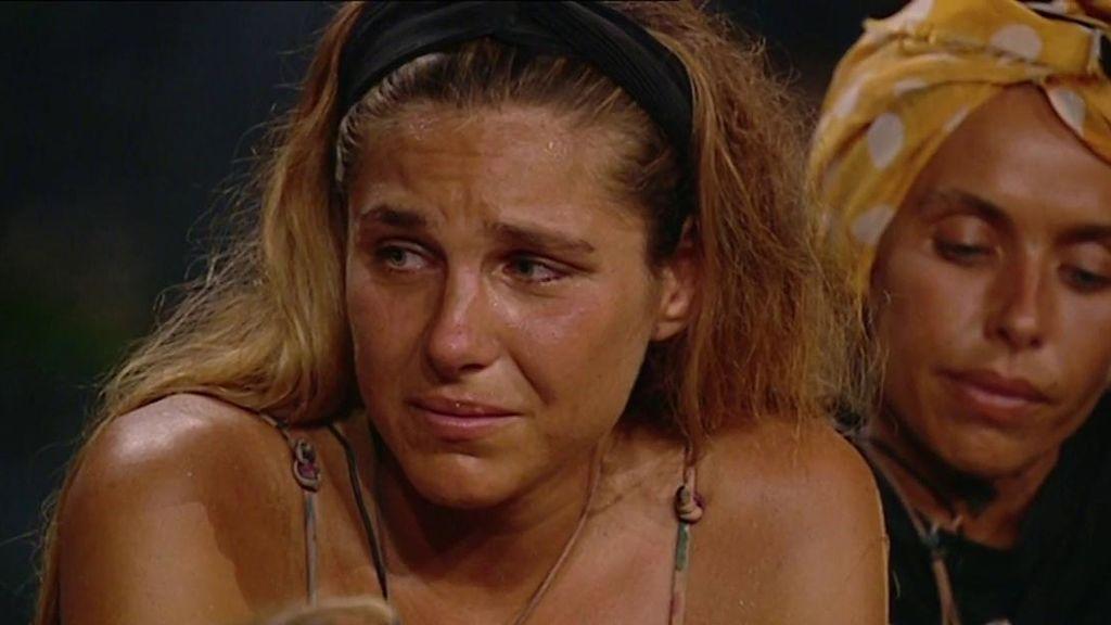 """Hugo asegura que no quiere volver con Ivana y ella rompe a llorar: """"Le dices te amo a cualquiera"""""""