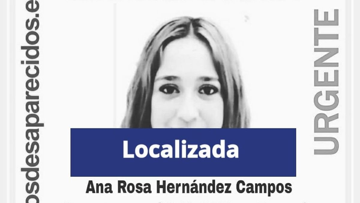 Encuentran en buen estado menor desaparecida 6 de abril en Bormujos