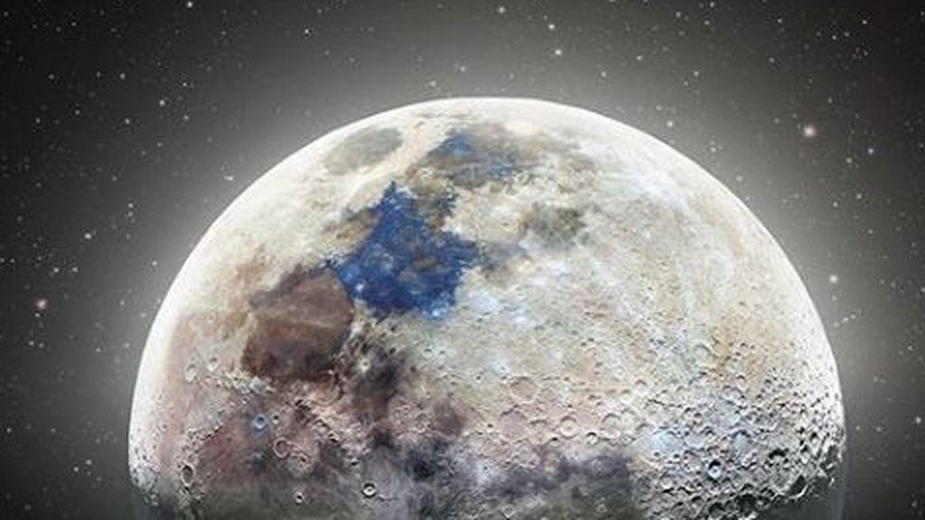 La Luna, hipernítida: un fotógrafo superpone dos semanas de instantáneas para conseguirlo