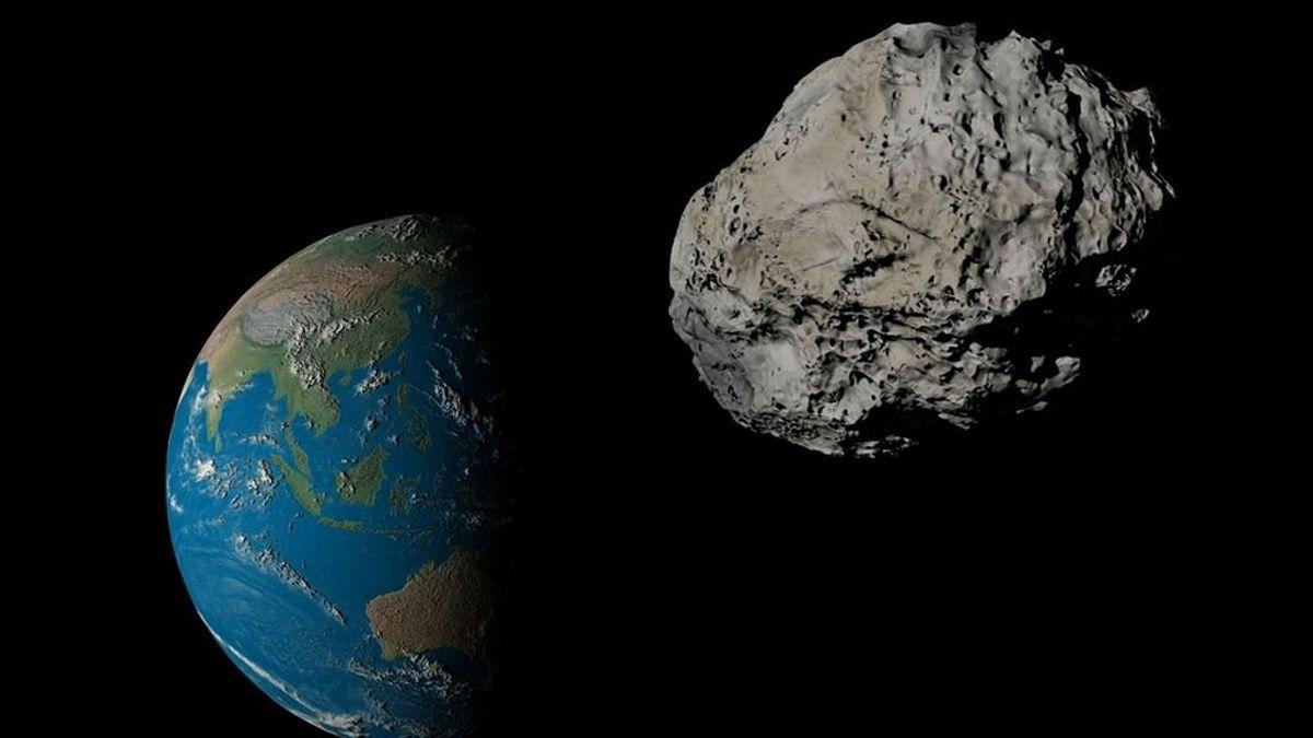Un asteroide del  tamaño de una furgoneta pasa a 7.000 kilómetros de la Tierra