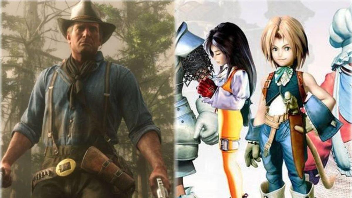 Red Dead Redemption 2 y FFIX