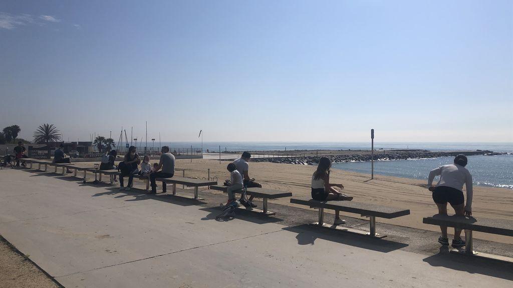 Barcelona abre sus playas este viernes para la práctica de deporte individual
