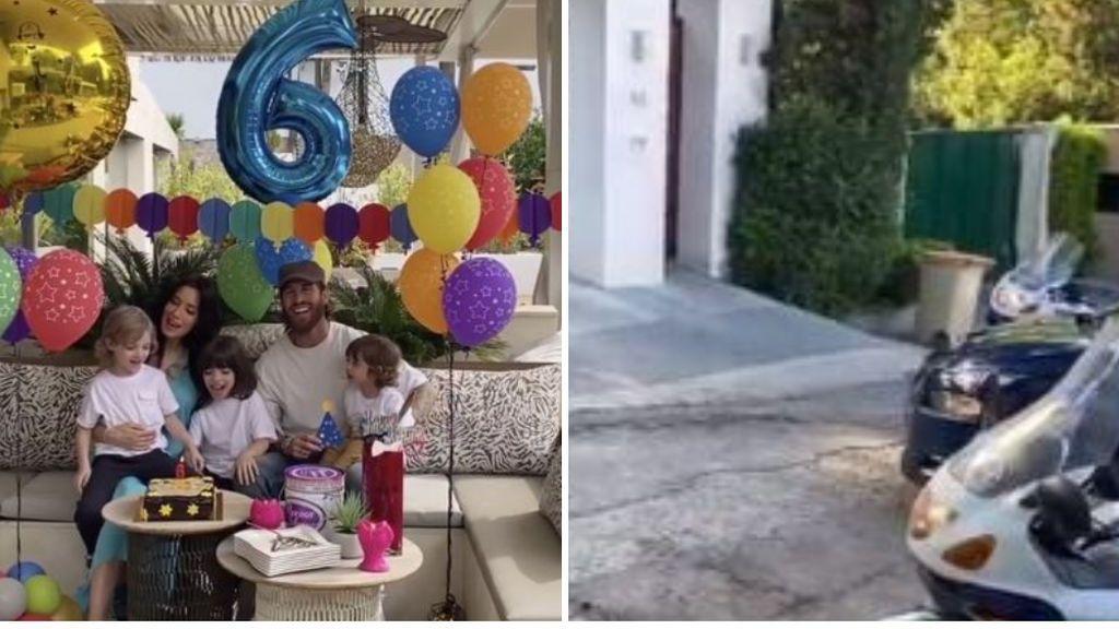 """La sorpresa de la Policía al hijo de Sergio Ramos por su cumpleaños: """"No solo nos protegen, sino que también nos alegran"""""""